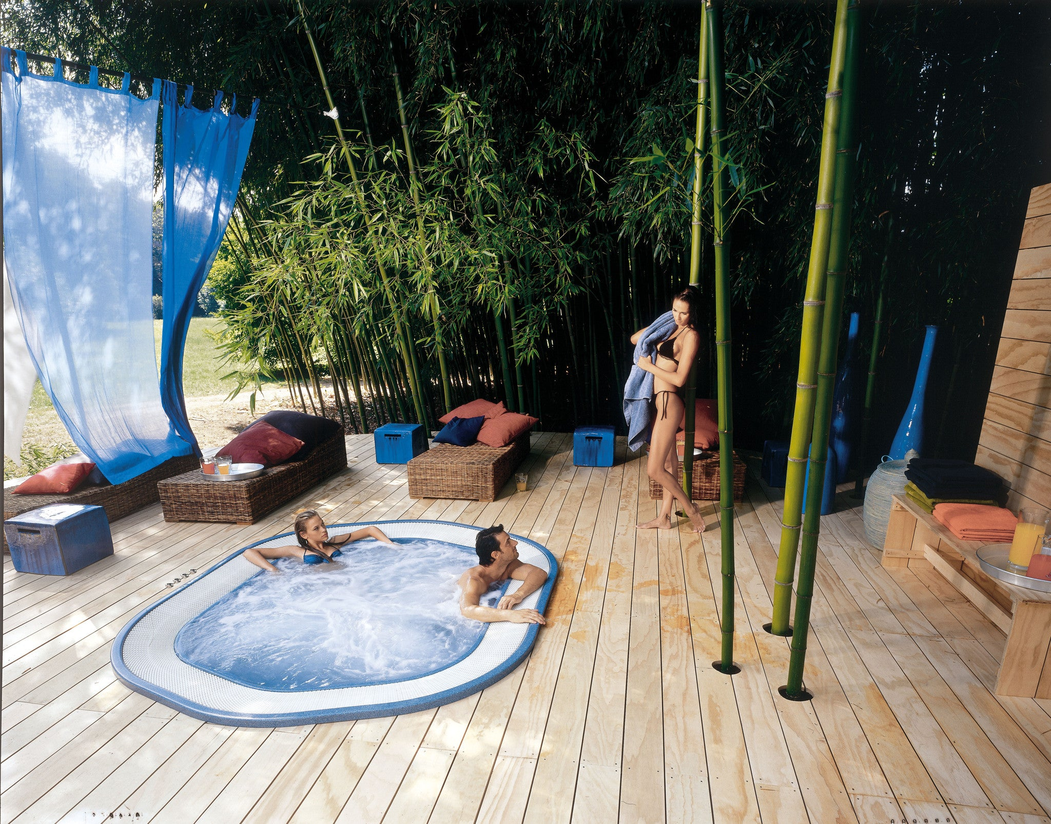 hot tub jacuzzi electricity guidelines outdoor living