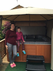 Hot Tub Installation for Debbie Cameron