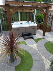 Hot Tub Installation for Shane