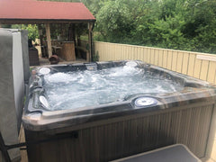 Hot Tub Installation for Gaze