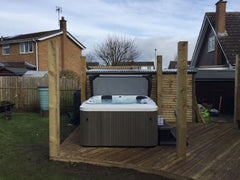 Hot Tub Installation for Paulesu