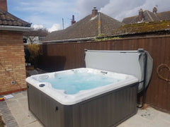 Hot Tub Installation for Funnell