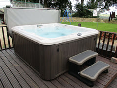 Hot Tub Installation for Ball