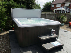 Hot Tub Installation for Beck