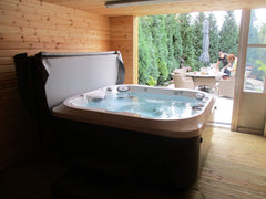 Hot Tub Installation for Botterill