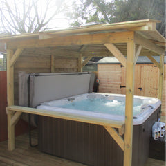 Jacuzzi J235 and Brentano Gazebo