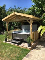 Hot Tub Installation for Browning