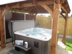 Hot Tub Installation for Cox