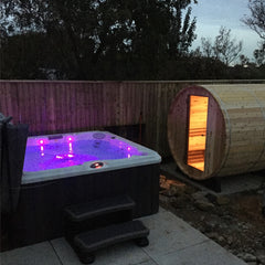 Hot Tub Installation for Heckford