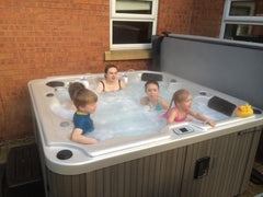 Hot Tub Installation for Mr Dearing