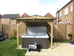 Hot Tub Installation for Gillen