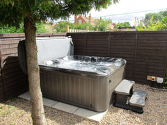 Hot Tub Installation for Hogg