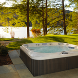 Holiday park hot tub