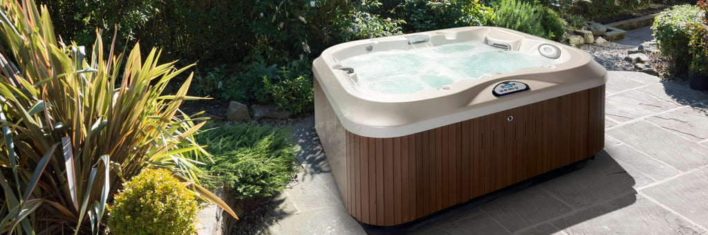 Hot Tub in Garden