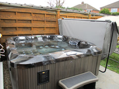 Hot Tub Installation for Linda & Martin Brown