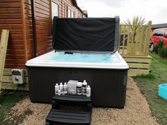 Hot Tub Installation for Alan and Karen Duncan