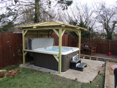 Hot Tub Installation for Naomi Johnson