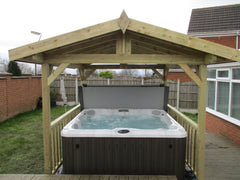 Hot Tub Installation for Mr Hard Castle
