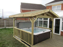 Hot Tub Installation for Mr Hardcastle