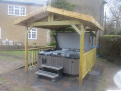 Hot Tub Installation for Edele Paton