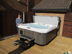 Hot Tub Installation for Steve Gillott