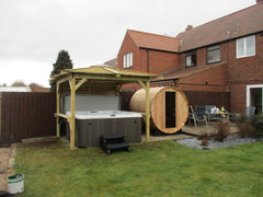 Hot Tub Installation for Mr Morcom