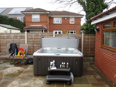 Hot Tub Installation for Mr Peters