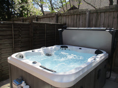 Hot Tub Installation for Mr Alberotanza