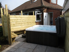 Hot Tub Installation for Mr White