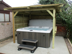 Hot Tub Installation for Copley