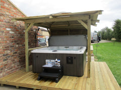 Hot Tub Installation for Fiona Bracewell
