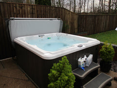 Hot Tub Installation for Ovington