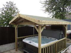 Hot Tub Installation for Joanne