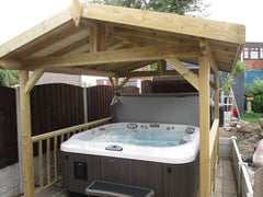 Hot Tub Installation for Richard