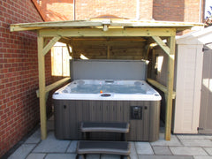 Hot Tub Installation for Claire & James