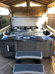 Hot Tub Installation for Cole