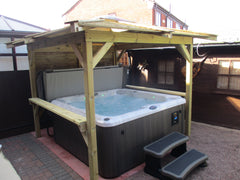 Hot Tub Installation for Lisa Devine