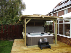 Hot Tub Installation for Joe