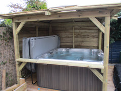 Hot Tub Installation for Helen Stewart