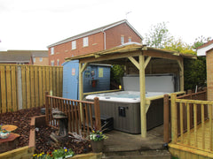 Hot Tub Installation for Rogerson