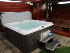 Hot Tub Installation for Peter
