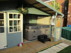 Hot Tub Installation for Lamplough