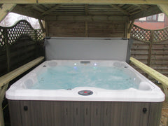 Hot Tub Installation for Sharrocks