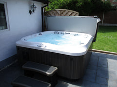 Hot Tub Installation for Stephenson