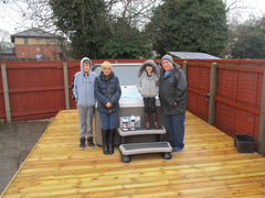 Hot Tub Installation for Tutty