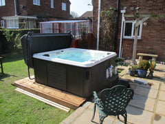 Hot Tub Installation for Surtees