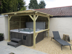 Hot Tub Installation for Buttle