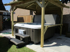 Hot Tub Installation for Ware