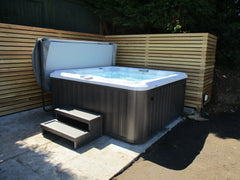 Hot Tub Installation for Hill