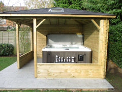 Hot Tub Installation for McCann